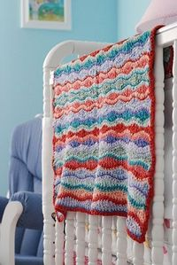 Gecko Blanket - such a bright cheery pattern and colors!