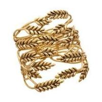Aurélie Bidermann Gold Wheat Cuff