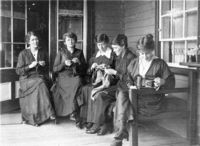 One million pairs of socks: knitting for victory in the first world war