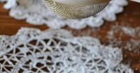 I'll teach you in a few simple steps how to decorate a cake with lace --- bring your dessert from drab to dramatic in minutes!
