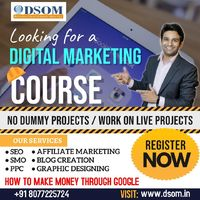 Best institute of online marketing. Boost your career with Digital school of online marketing (DSOM)