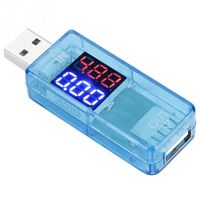Blioesy USB Color LCD Meter Digital Power Meter Tester Voltmeter Current Meter Multimeter USB Tester