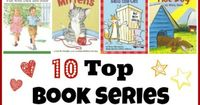 10 book series/collections perfect for NEW readers with simple text that offers confidence building and reading practice