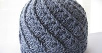 The front post dc and shell stitch combination in this Divine hat really caught my eye. The pattern uses asymmetrical shells to force the front post stitches in