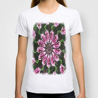 T-shirt A beautiful nonobjective kaleidoscope picture. It was inspired by a rose flower.