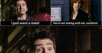 one of my favorite scenes. donna & the 10th doctor #doctorwho #davidtennant #donnanoble