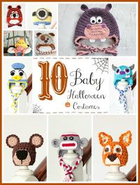 10 Free Halloween Baby Costume Crochet Patterns