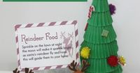 Animal Safe Magic Reindeer food to sprinkle on the ground on Christmas Eve with seven fab free printable labels and poem from Mum in the Mad House