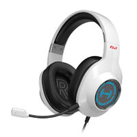Edifier G2 Gaming Headphone Bass USB 7.1 Channel RGB Light Wired Control With Mic for Xbox PS4 Desktop
