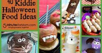 Need a kid friendly halloween snack idea? Check out these 40 adorable and edible snacks that you can your child can make together. Fun for the whole family