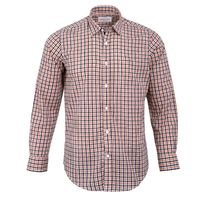 Create a stylish look with this Oxford Men orange and multi casual shirt. Woven in Egyptian cotton. this casual shirt has a fine finish.  �€� 100% Cotton  �€� Classic collar  �€� Full Sleeve  �€� Oxford Men  �€�...