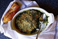baked spinach #spinach