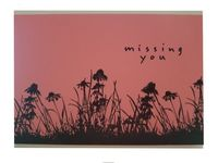 Missing You Greeting Card $1.50