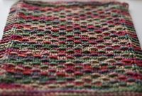 Pretty Knitted Dishcloth