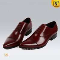 CWMALLS® Fashion Lace-up Leather Oxford Shoes CW707505