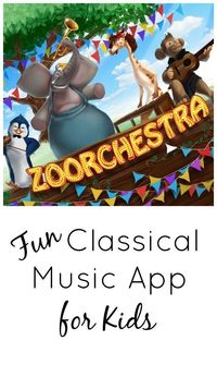 Introduce kids to classical music and composers with this fun music app for kids.