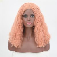 Short Body Wavy Lace Front Wig $55.28