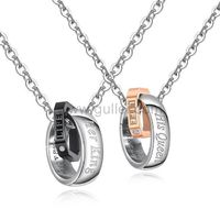Her King His Queen Couple Promise Necklaces Gift https://www.gullei.com/her-king-his-queen-couple-promise-necklaces-gift.html