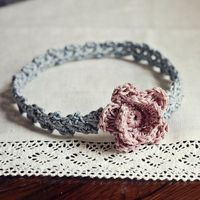 Looking for your next project? You're going to love Old Rose Headband by designer MonPetitViolon. - via