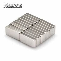 100 pcs Rare Earth Neodymium Permanent Magnet Block Magnets 10x5x2mm DIY Projects $7.50