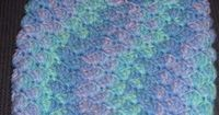 Baby Pouch and Hat - free crochet pattern
