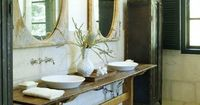 Open vanities function well in large or small bathrooms. And the style fits any setting -- from traditional to cottage to contemporary.
