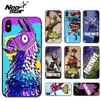 Fortnite Case for iPhone 6 6S 7 8 X 10 Fortnite Battle Royale for iPhone 6 7 8 plus Game Case PC TPU 2 IN 1 Phone Cover $3.40