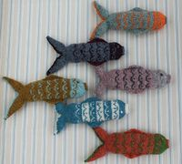 Ravelry: Fair Isle Fish pattern by Julia Marsh