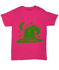 My 1st halloween halloween light unisex t-shirt $22.95