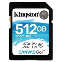 Kingston 512GB (SDXC) SDG/512GB UHS-1 SD Ultimate Card (Class 10)