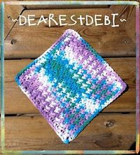 Easy-Peasy Dishcloth « The Yarn Box The Yarn Box