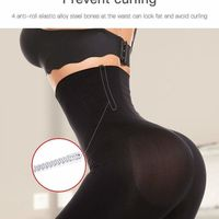 Seamless Waist Slimming Tummy Control Body Shaper-Black at www.fashionsqueen.com