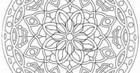 Free Large Mandala Coloring Pages | Back to Coloring pages special mandala category