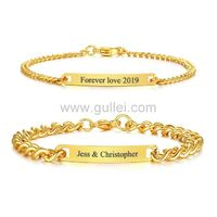 Personalized Couple Promise Bracelets Birthday Gift Set https://www.gullei.com/personalized-couple-promise-bracelets-birthday-gift-set.html