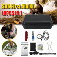 SOS Emergency Survival Equipment Tools Kit Outdoor Tactical Camping Hiking Gear Tool