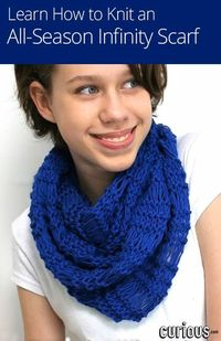 In this lesson for beginner's, Maryna shows you how to cast on for a chunky urban cowl scarf, using the English and Continental knitting styles.