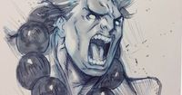 Street Fighter - Akuma by Alvin Lee *