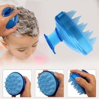 �Ÿ˜�1PC Spa Massage Hair Brush Silicone Spa Shampoo Brush Shower Bath Comb Hairbrush Props Soft Styling Tool cepillo pelo�Ÿ˜� $5.31