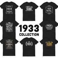 1933 Birthday Gift, Vintage Born in 1933 t-shirt for men, 87th Birthday, Made in 1933 T-shirt, 87 Year Old Birthday Shirt - 1933 Collection $19.99