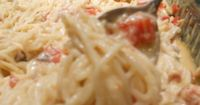 I've posted a chicken spaghetti recipe before, but recently tried this one I found on Pinterest. Everyone in the family really liked this one and I have to admit, it was a lot easier than my�€�