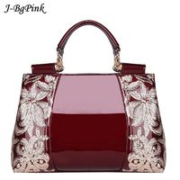 Luxury Handbags women bags High-end counters genuine leather patent leather handbags women's shoulder bags luxury famous brand $73.90