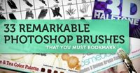We all know that the brushes you have in the library is never enough, so we'd like to present you with 33 more brushes that you must book mark!