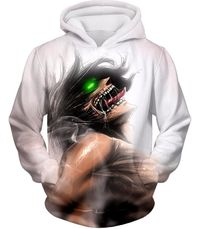 Attack on Titan Always Cool Survey Soldier Captain Levi Hoodie AOT050 $34.99