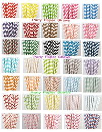 LOWEST PRICE...100 Pick Your Colors Paper by PartyPaperStraws