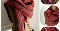 simple shawl- lovely