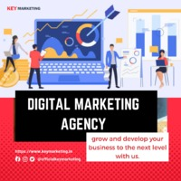 Key Marketing is the ideal partner in your efforts to grow your company. We are a group of creative individuals with extensive knowledge and expertise in all aspects of digital marketing.