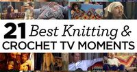 Excited to be part of this fabulous collection! My True Blood blog post is #7! 21 Best Knitting and Crochet Moments in TV and Film
