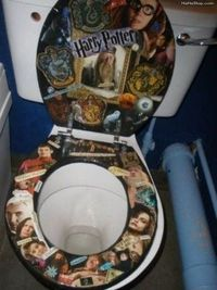 The only reason I wouldnt do this is because I dont want my bare ass on Harry Potter. No the only reason I wouldnt do this is not because ppl might think im clinically insane.