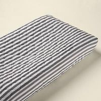 stripe changing pad cover