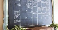 {If you're new here, you can follow me on Facebook, Twitter, Instagram, Pinterest & Etsy.} Yes, I painted another chalkboard wall. I know I have a (*slight*) ob